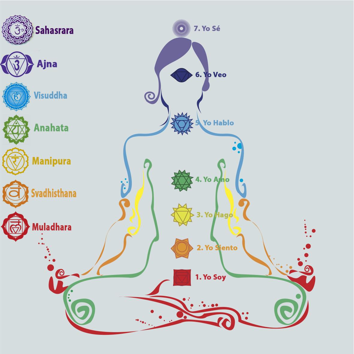 Famosos Los 7 chakras y consejos sobre como activarlos – GANESHVARA GI23